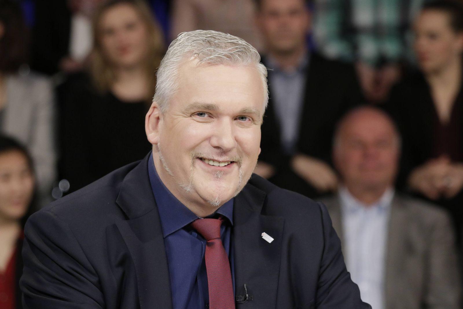 Berlin ZDF Polit Talk Maybrit Illner Thema Länger schuften mehr vorsorgen und im Alter trotzd