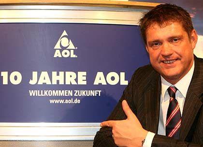 Ungewisse Zukunft: AOL-Deutschland-Chef Ahlers auf der Jubliläumsfeier in Berlin