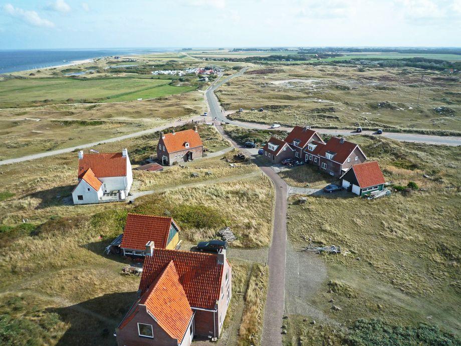 Den besten Ausblick über Texel haben Urlauberinnen und Urlauber vom Leuchtturm aus