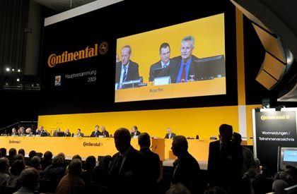 Unruhe bei der Hauptversammlung: Continental wehrt sich gegen Großaktionär Schaeffler