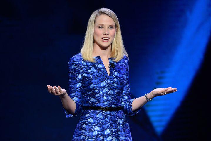 Hält als CEO und President bei Yahoo alle Fäden in der Hand: Marissa Mayer
