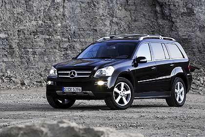 Mercedes GL: Wiegt viel, verbraucht viel Benzin