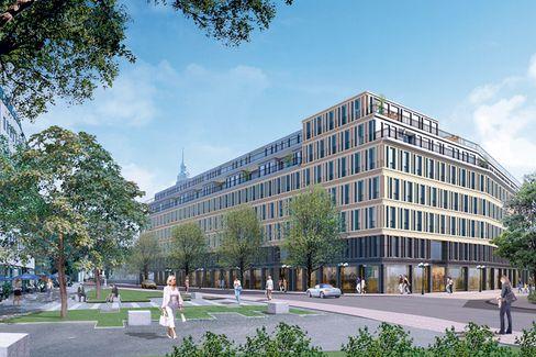 Nicht weit zum Shoppen: Dieser Neubau mit Edelwohnungen liegt in Gehweite zum Marienplatz