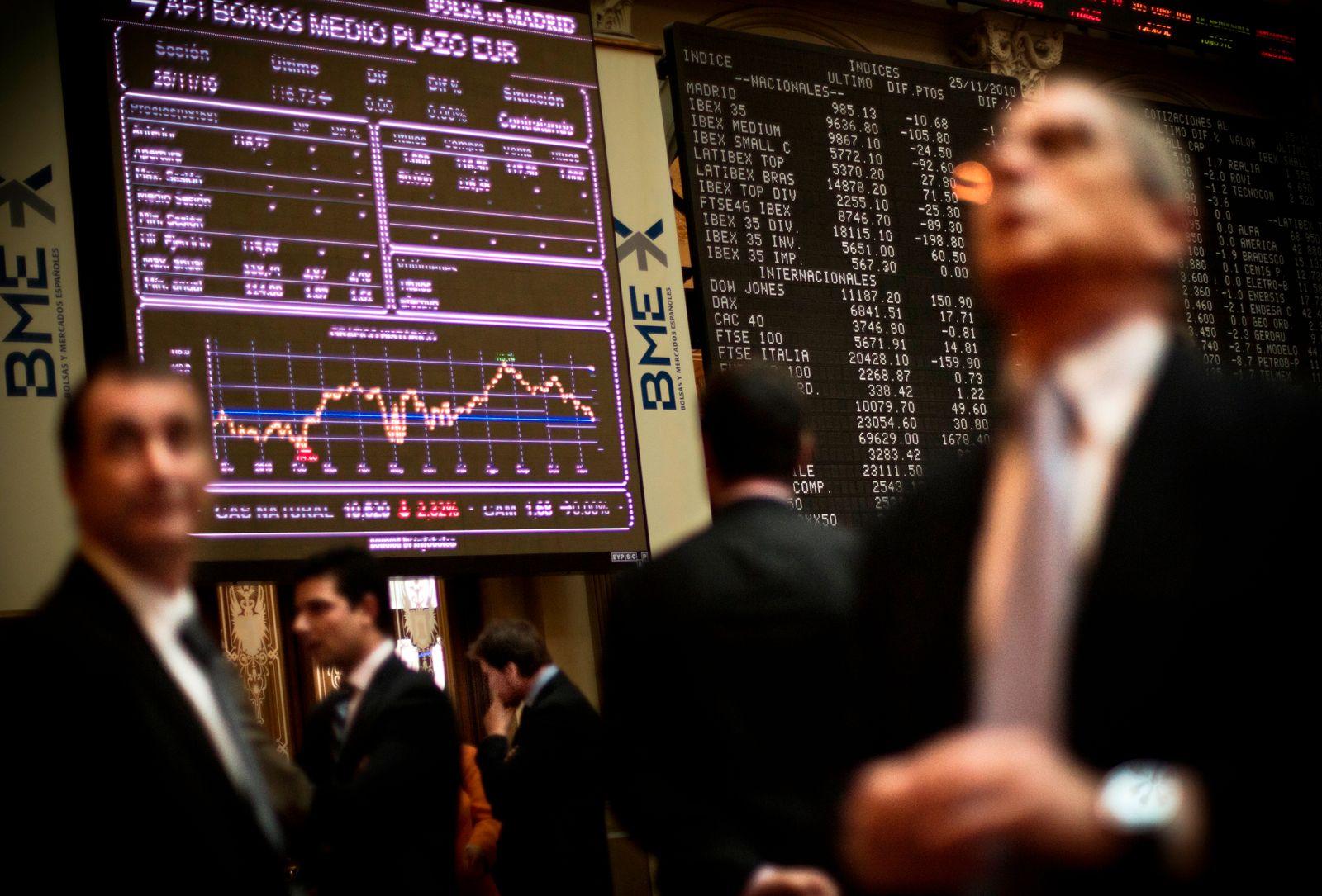 Spanien / Börse / Finanzkrise