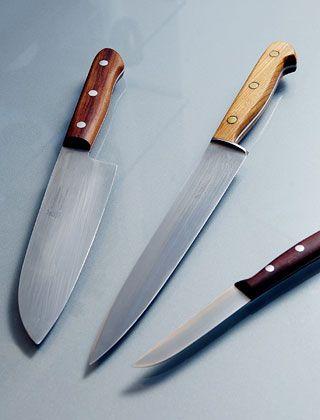 """Konzentration auf das Wesentliche: """"Besser nur drei scharfe und gepflegte Messer als zehn mittelmäßige"""""""