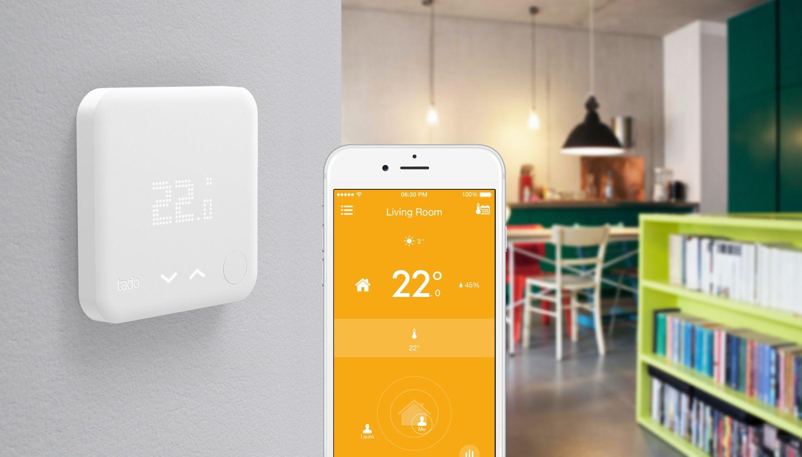 EINMALIGE VERWENDUNG Tado Thermostat