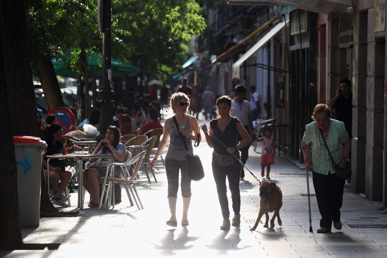 Lokale / Cafe / Lokal / Madrid / Spanien