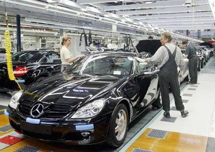 Mercedes-Produktion in Bremen