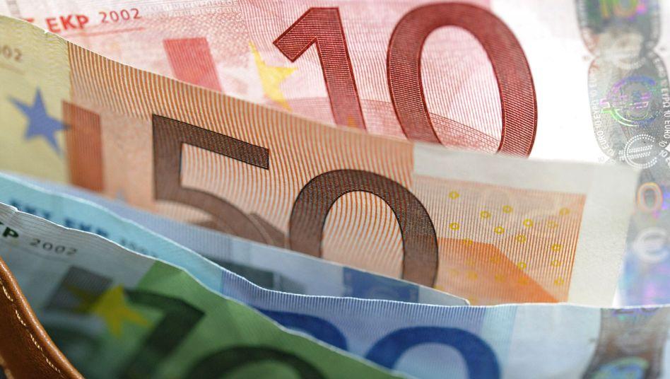 Euro-Scheine: Viele Anleger flüchten aus der Gemeinschaftswährung - zum Beispiel in die norwegische Krone