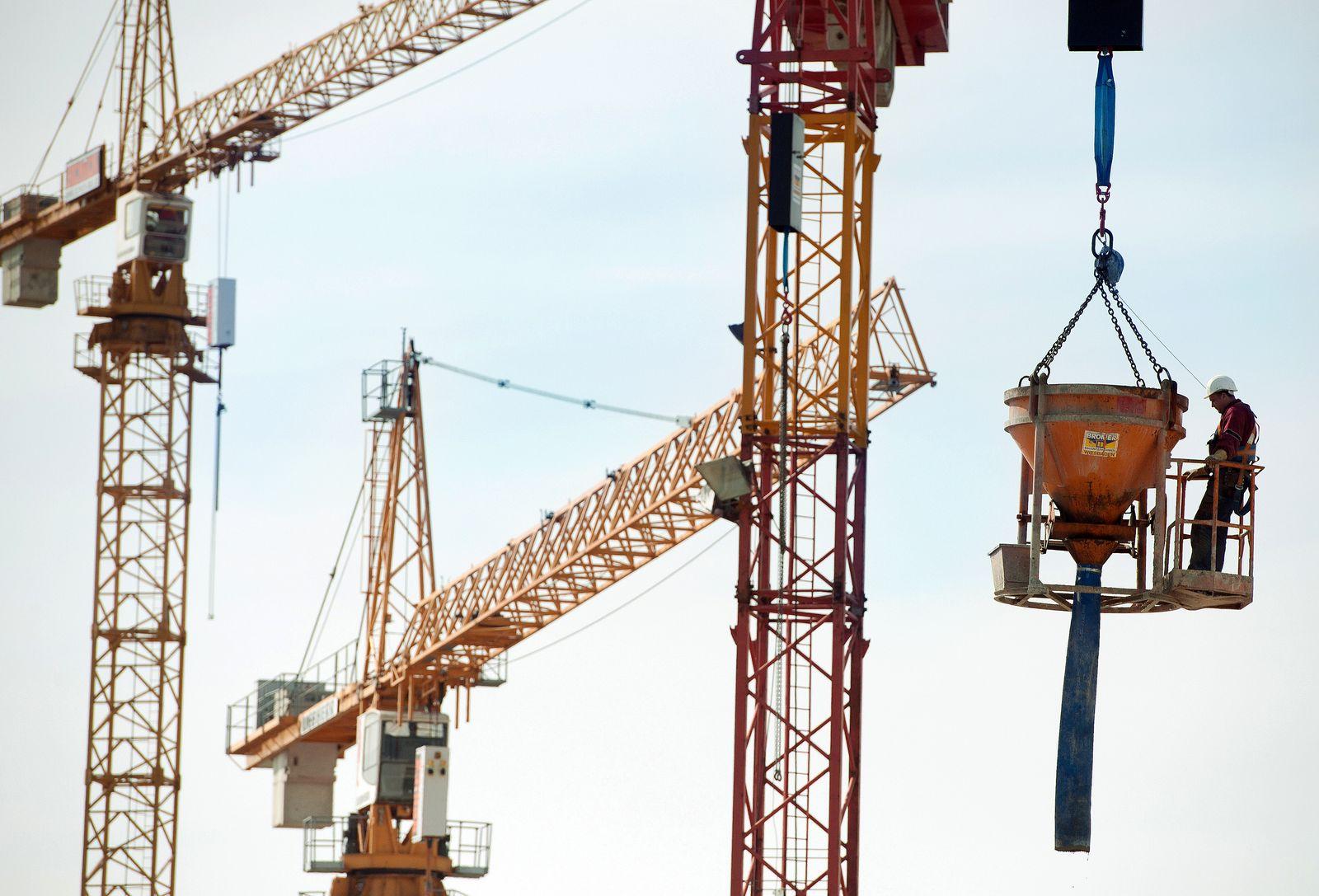 Deutschland /Konjunktur / Baustelle