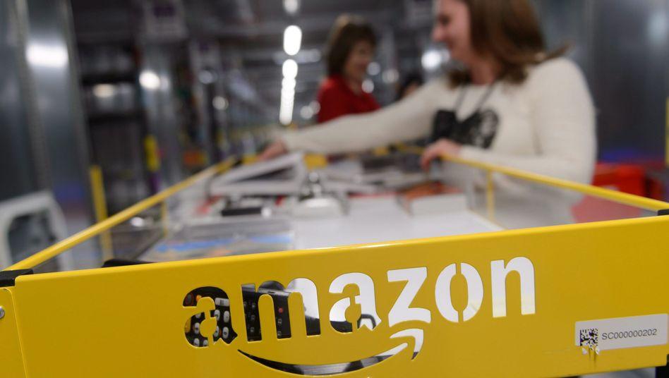 Amazon-Logistikzentrum in Polen (Archivbild): Dem Konzern wird vorgeworfen, Steuervorteile in Luxemburg genutzt zu haben