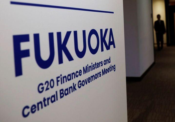 G20-Finanzminister treffen sich in Japan