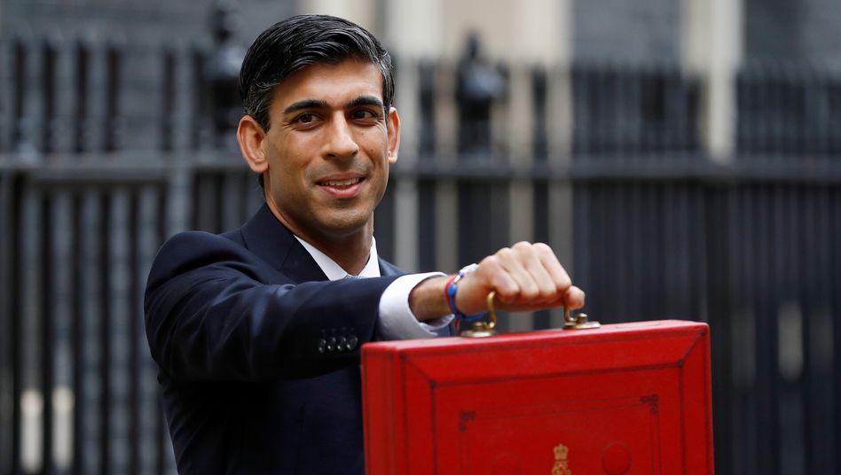 Großbritanniens Finanzminister: Rishi Sunak