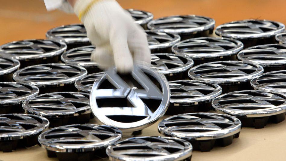 Volkswagen: Der Konzern verkaufte im Jahr 2010 mehr als 7 Millionen Autos