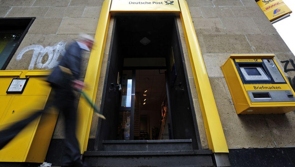 Filiale der Deutschen Post: Die KfW hat durch den Verkauf der Post-Anteile knapp eine Milliarde Euro in die Staatskasse gespült