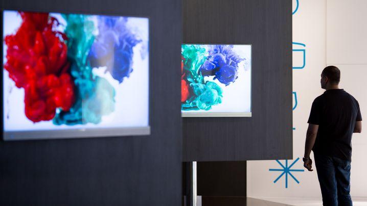 Kurven und ultraviele Pixel: Das bringen die neuen Fernseher