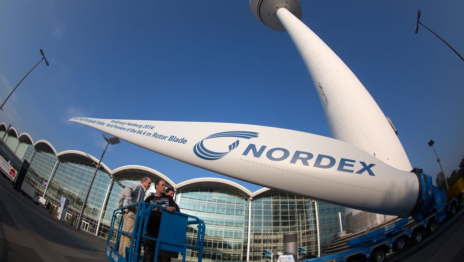 Windrad von Nordex: Es geht um Bürgschaften für 350 Millionen Euro