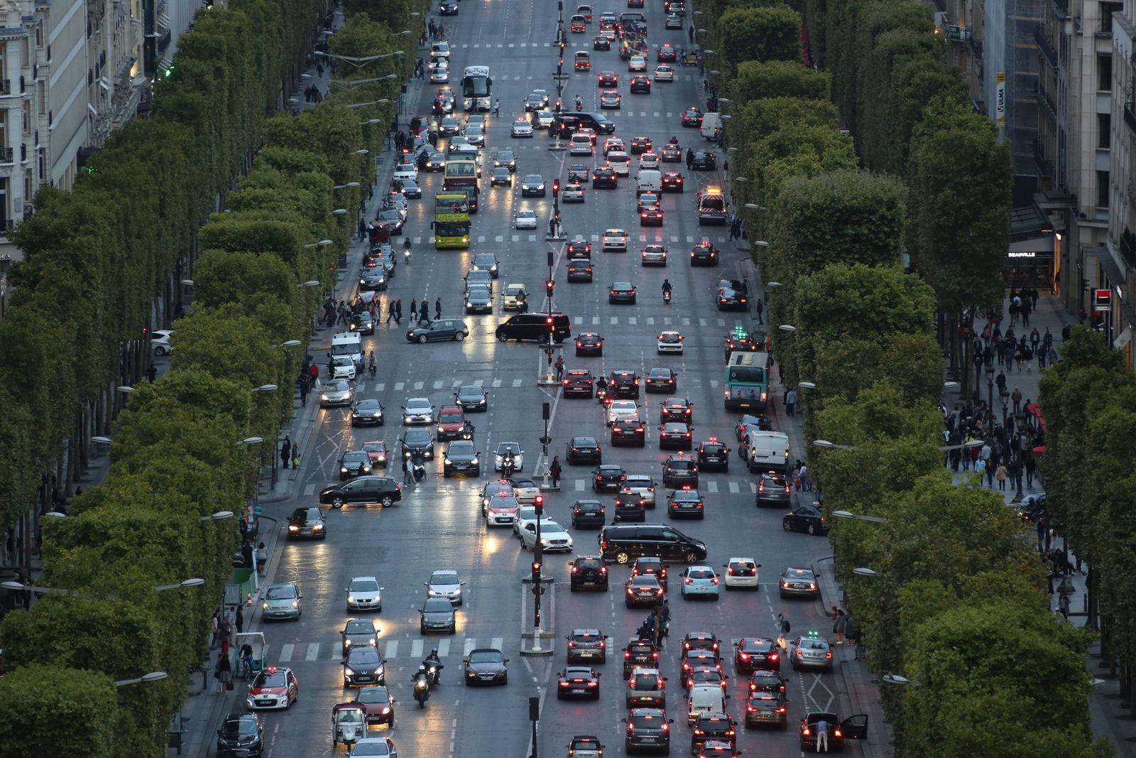 Paris/ Verkehr/ Fahrverbot