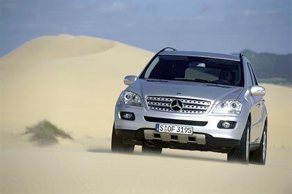 Mercedes M-Klasse: Mit der nächsten Generation der M-Klasse will Mercedes verloren gegangenes Terrain zurückgewinnen. 2004 verbuchte der Gelände-Benz hier zu Lande ein Minus von 16 Prozent auf 14.300 verkaufte Einheiten.