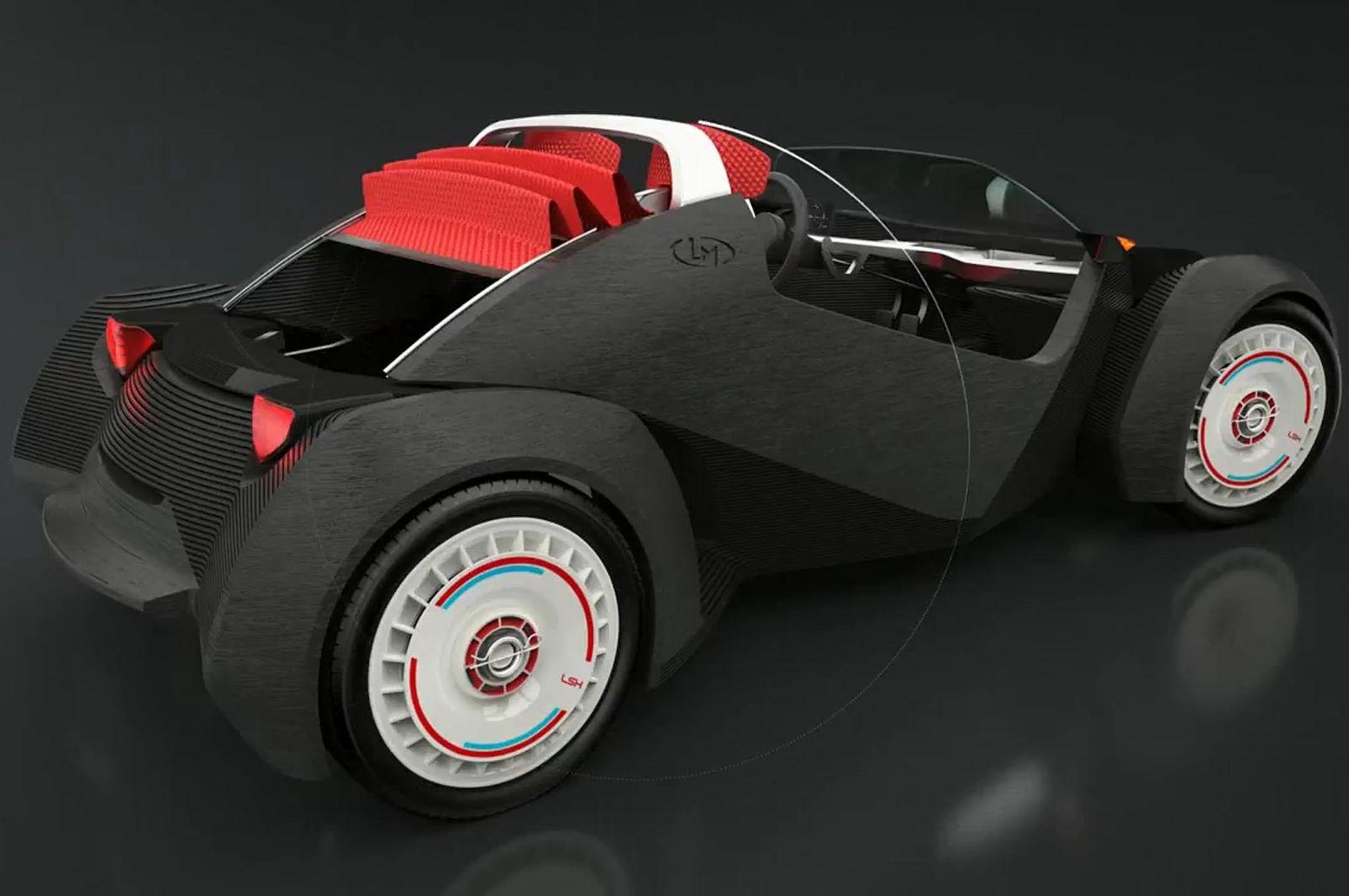 3D printed car / Strati / Local Motors
