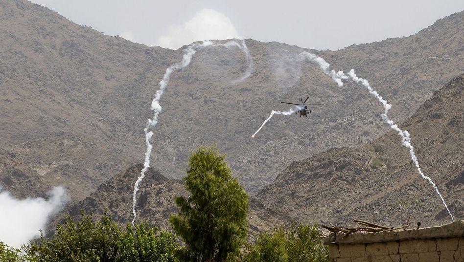 Angriff aus der Luft: Über die Motive der Attacke ist noch nichts bekannt