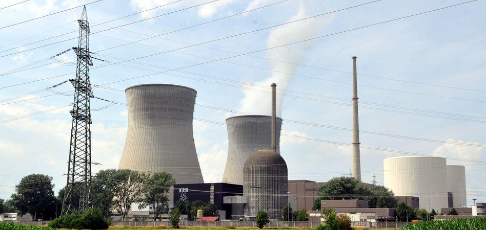 Stein des Anstoßes: Bei der Klage von RWE und Eon geht es um die Besteuerung des Reaktors Gundremmingen