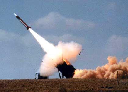 Flugabwehr: Eine Patriot-Rakete beim Start