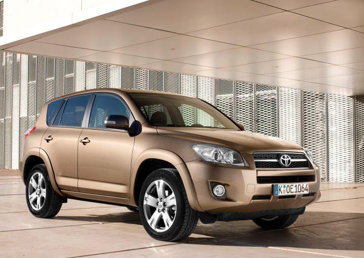 Toyota RAV4: Bei den zwischen 2004 und 2010 hergestellten Fahrzeugen wurde ein schadhaftes Spiralkabel für Airbags eingebaut