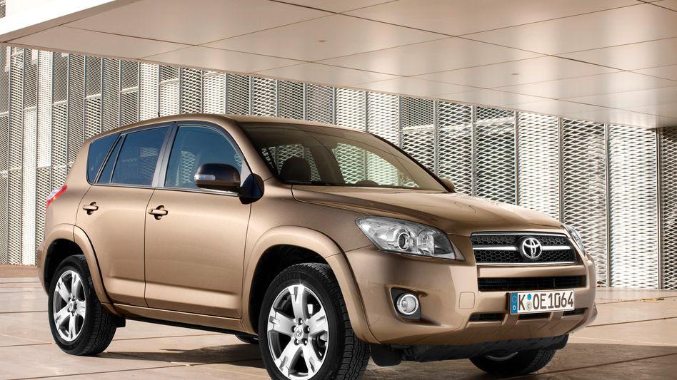 Toyota Rav4 (Modelljahr 2009): Rückruf von 308.000 Fahrzeugen der US-Variante