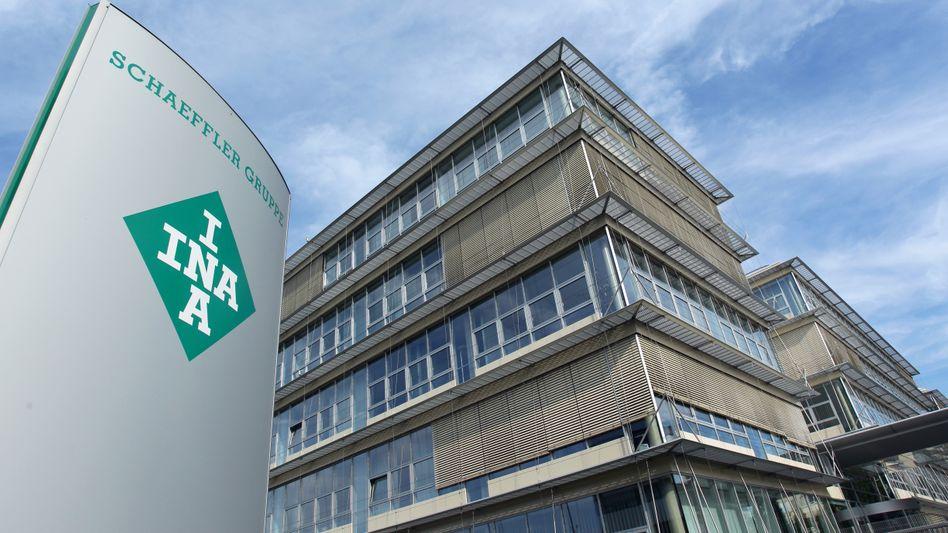 Schaeffler-Zentrale: Milliardenschulden drücken den Konzern