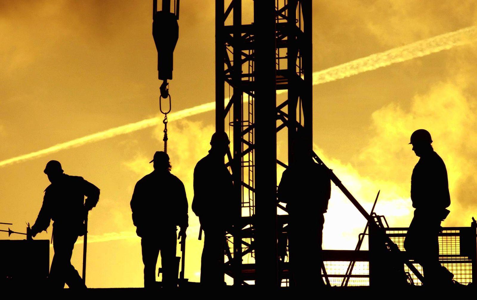 NICHT VERWENDEN Bauwirtschaft Konjunktur Rezession