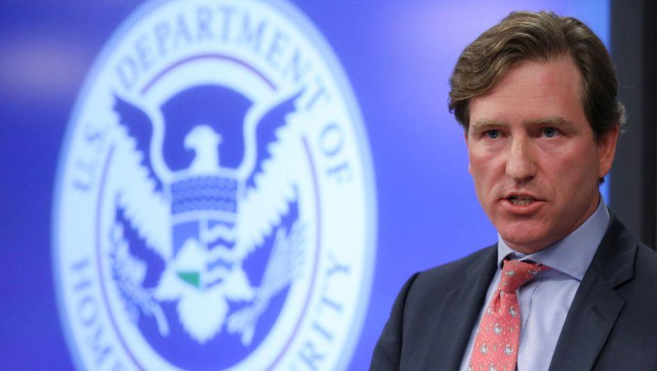 Zu kritisch für Trump: Der Chef der Cybersicherheitsagentur Chris Krebs