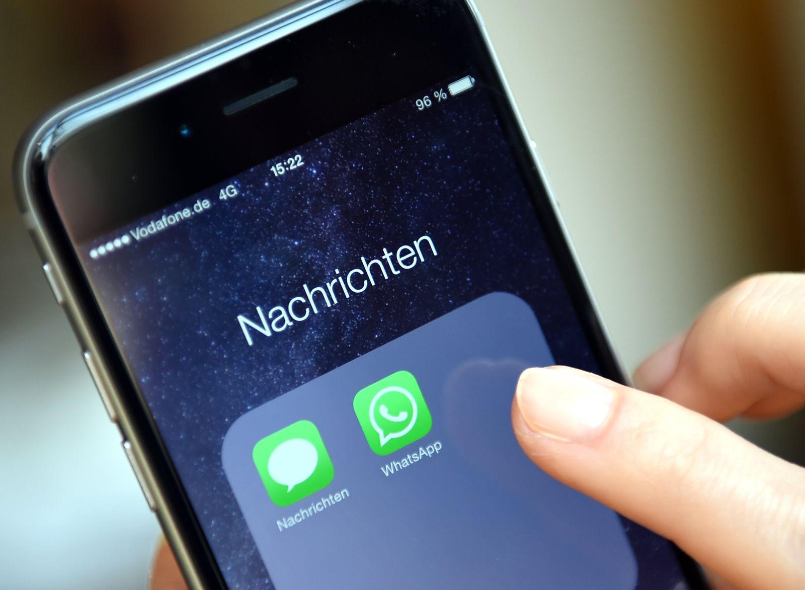WhatsApp und SMS / iPhone