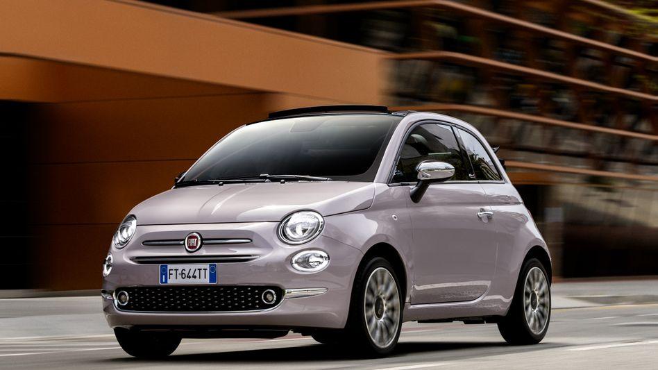 Fiat 500: Für 85 Euro im Monat kann man das Fahrzeug ab sofort bei Tchibo bestellen