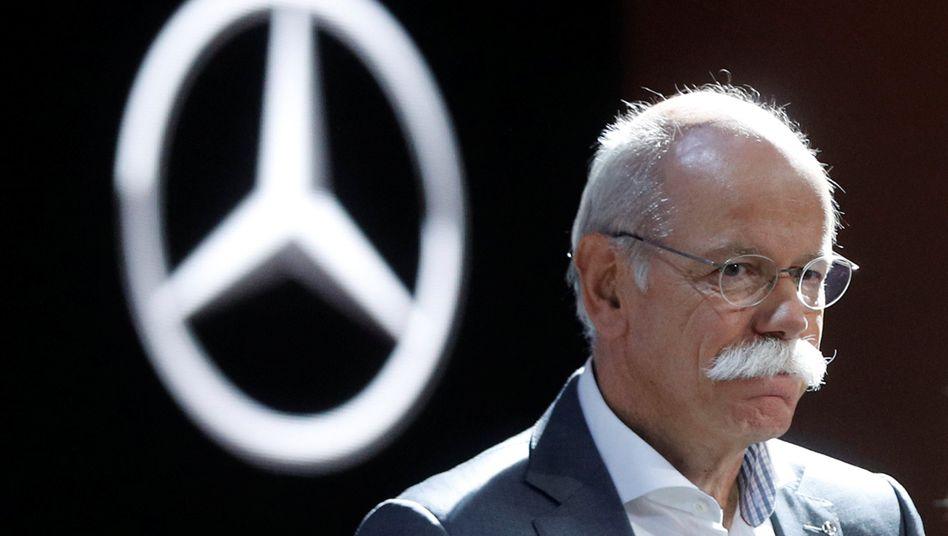 Daimler-Chef Dieter Zetsche: Das Dieselthema beunruhig auch die Aktionäre