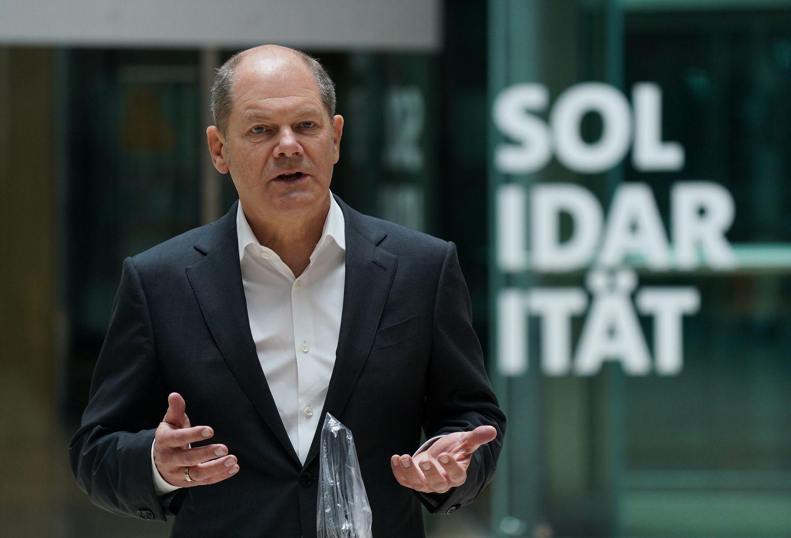 Olaf Scholz / SPD / Coronavirus