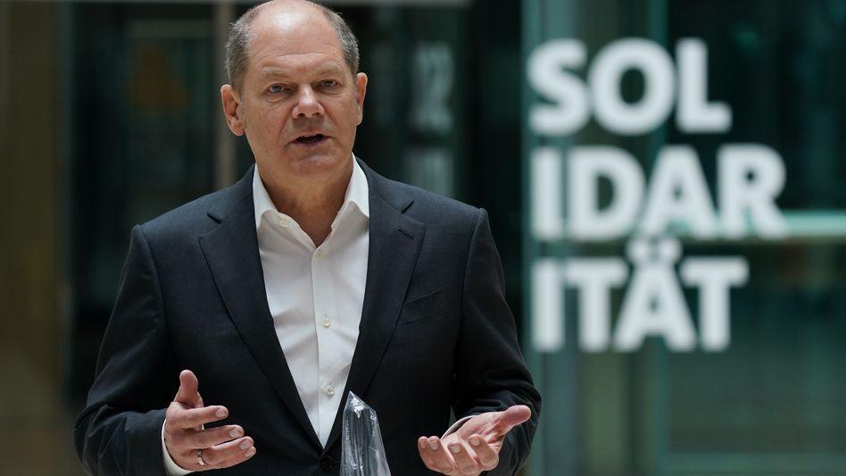 Bundesfinanzminister Olaf Scholz will ein Konjunkturpaket auflegen, um die Wirtschaft wieder in Schwung zu bringen. Noch äußert sich der Vizekanzler nicht dazu.