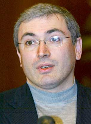 Kraftprobe: Michail Chodorkowski spürt jetzt die Verärgerung des Kreml