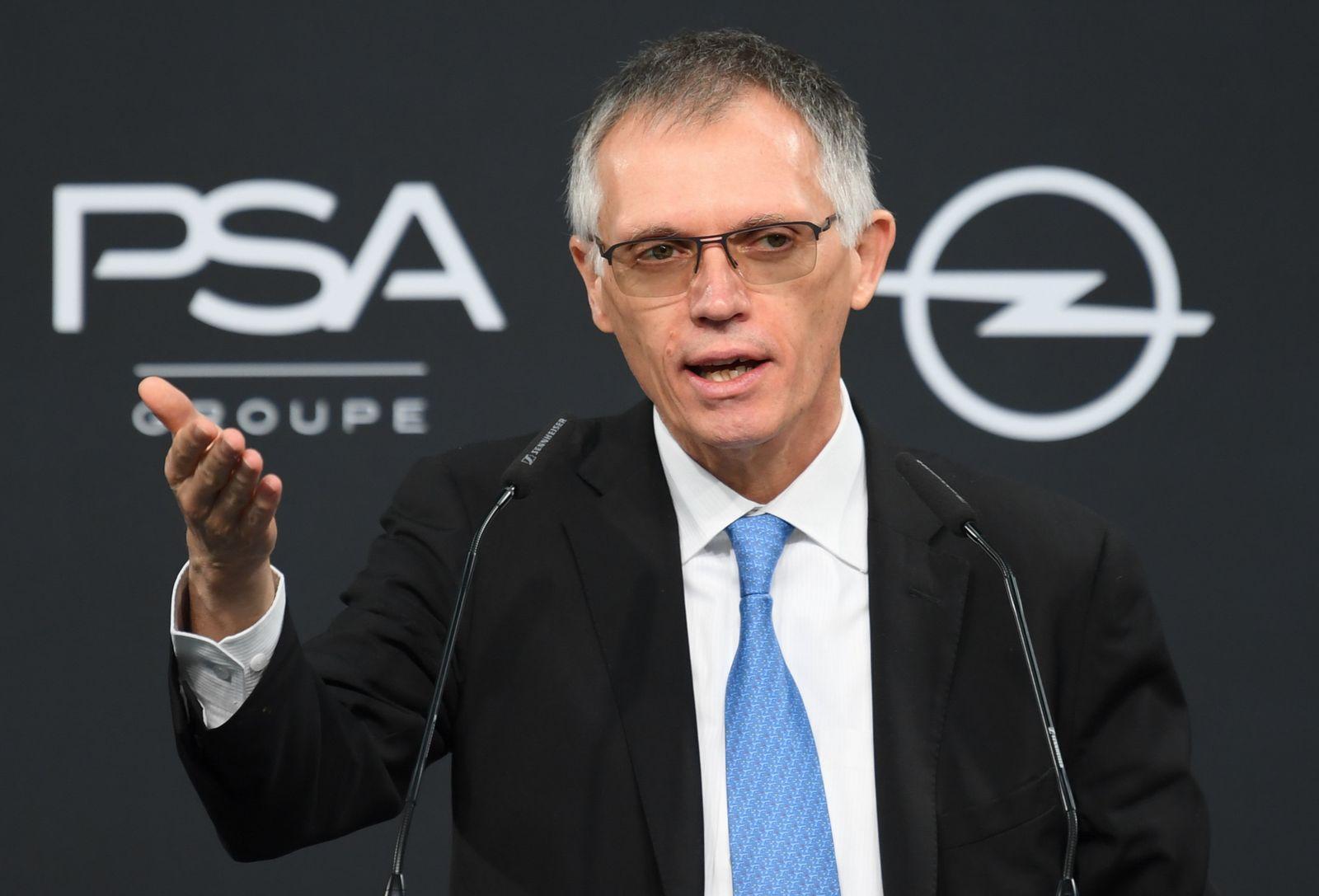 PSA-Vorstandsvorsitzender Tavares lobt Opel-Kauf
