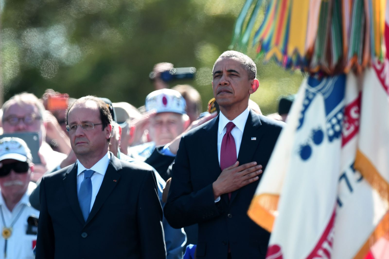 D-Day/ Hollande/ Obama