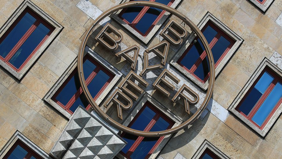 Bayer-Zentrale in Leverkusen