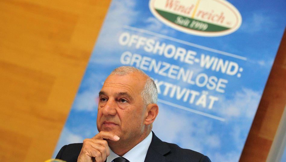 Windreich-Chef Willi Balz: Fahnder im Unternehmen