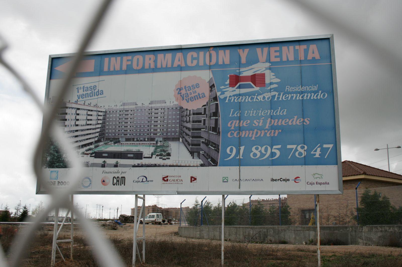 Spanien / Bau-Misere / Immobilien