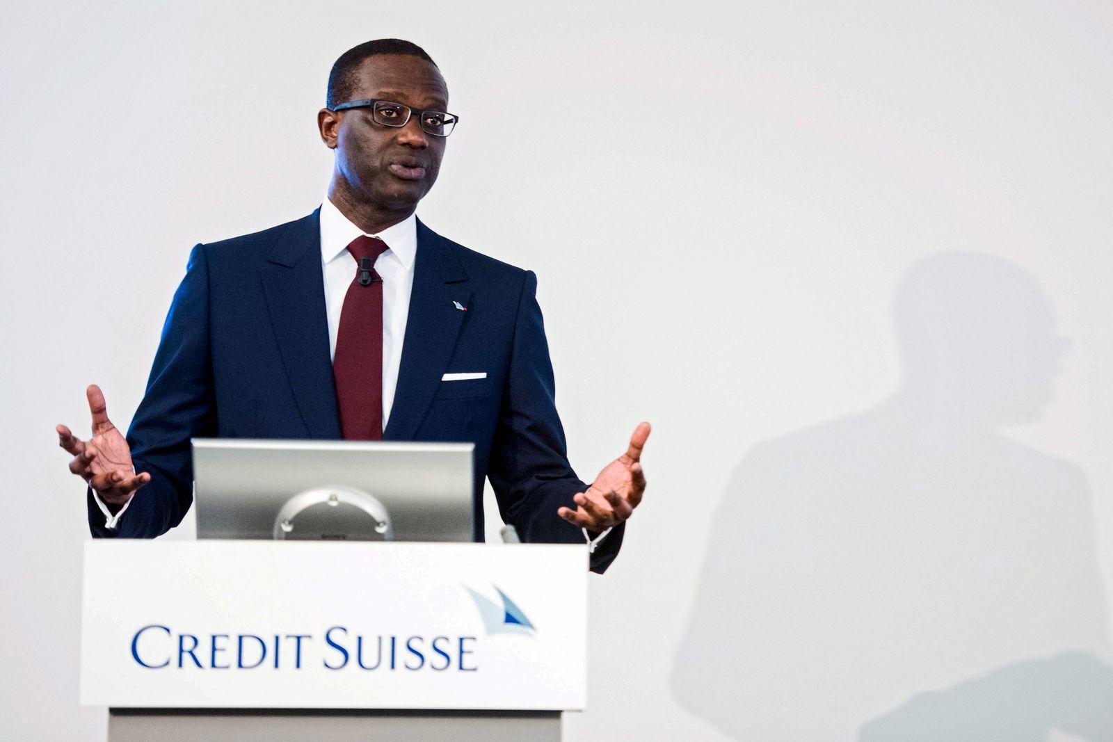 Credit Suisse; Tidjane Thiam