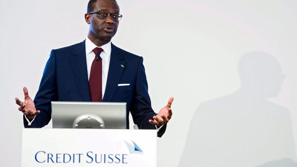Credit Suisse Chef Tidjane Thiam: Der Verlust schrumpft, die Hoffnung wächst - auch bei der Deutschen Bank