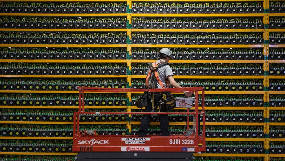 Bitcoin-Mine in Kanada