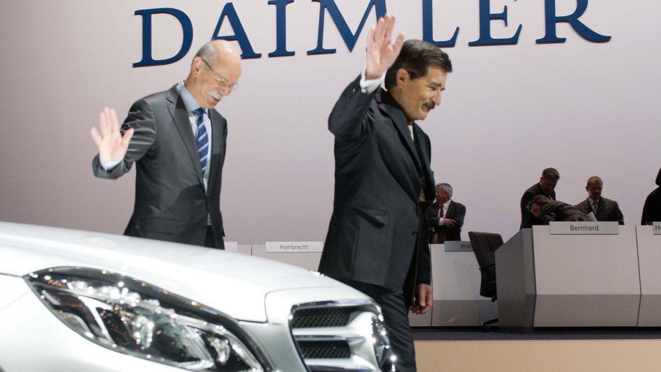 Daimler-Führung auf der Hauptversammlung: Schon wieder eine Gewinnwarnung