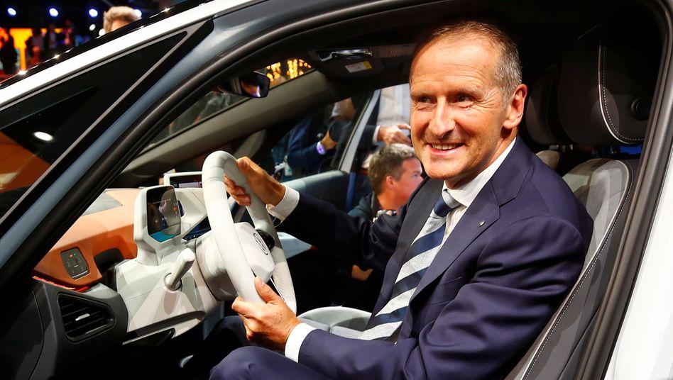 Voll auf Elektro: Volkswagen-Chef Herbert will deshalb ein Auto für Kunden, denen der ID.3 zu teuer ist - aber nicht vor 2023