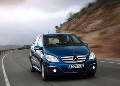 Mercedes B-Klasse: Die Brennstoffzellenautos sollen sich fahren wie ihre benzingetriebenen Geschwister - und ebenso aussehen
