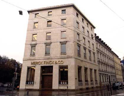 Das Stammhaus des Privatbankhauses in München